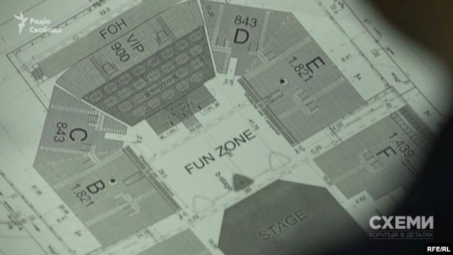 Схема розсадки, яку запропонувала компанія Nussli