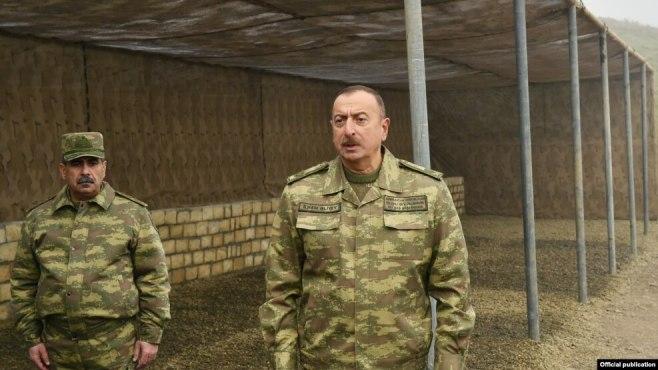 Image result for İlham Əliyev Füzuli