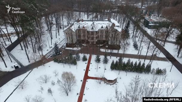 Будинок, частину якого орендує Арсен Аваков