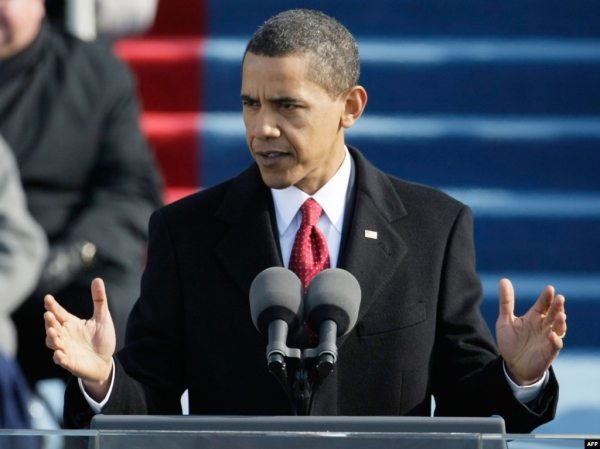 Barack Obama Sworn In As U.S. President, Calls For 'Unity ...