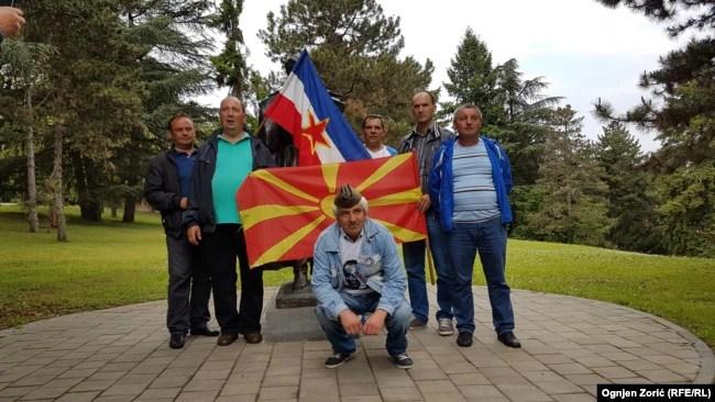 'Mnoge nacije su se afirmirale u Jugoslaviji, to je slučaj sa Bošnjacima, Makedoncima i Crnogorcima.' (Fotografija: Makedonci ipsred Kuće cveća, 2017.)