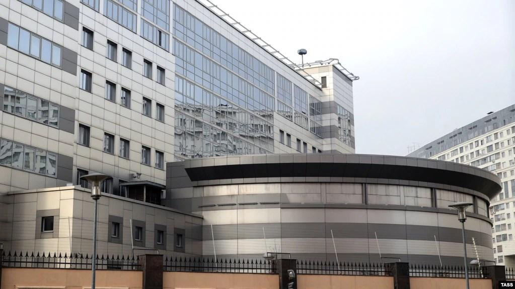 Комплекс будівель ГРУ Генштабу ЗС РФ в Москві