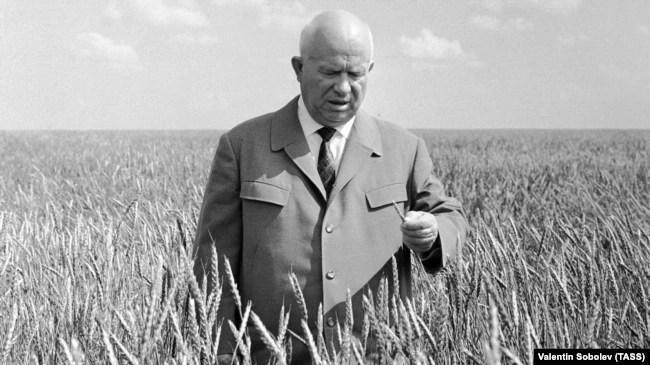 Микита Хрущов – перший секретар ЦК КПРС (1953–1964)