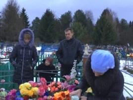 Родители Коли Костина и младший брат Андрей