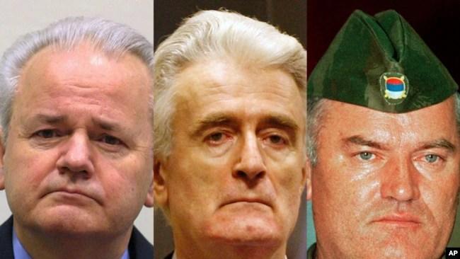 Milošević izbegavao slikanje sa Karadžićem (na slici: Slobodan Milošević, Radovan Karadžić i Ratko Mladić)