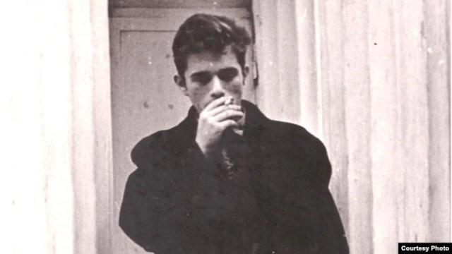 Валерий Родос в студенческие годы