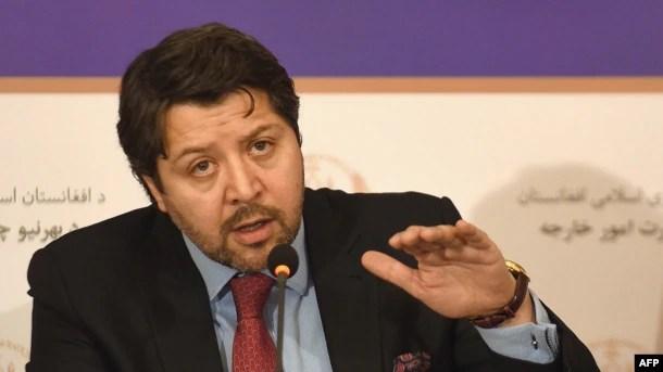 حکمت خلیل کرزی معین سیاسی وزارت خارجه افغانستان