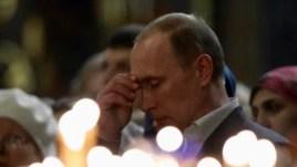 Președintele Putin la o slujbă religioasă la Soci
