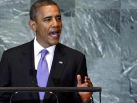 President Obama spoke at the session 66 for Assembly