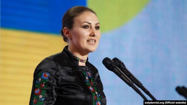 Народний депутат України Софія Федина