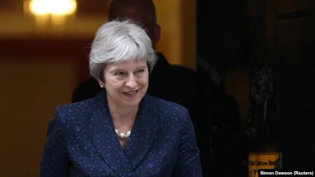 Kryeministrja e Britanisë, Theresa May