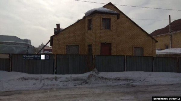 Дом в Астане, где предположительно находится Серикжан Билаш. 14 марта 2019 года.