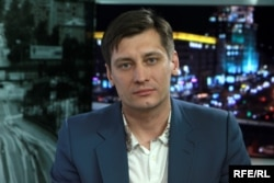 Russian opposition politician Dmitry Gudkov