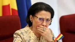 """Senatoarea Ecaterina Andronescu militează vehement pentru """"salvarea"""" AOSR cu bani de la buget"""
