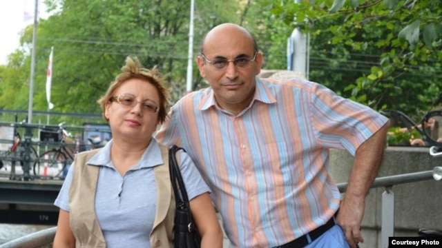 Leyla and Arif Yunus in happier times
