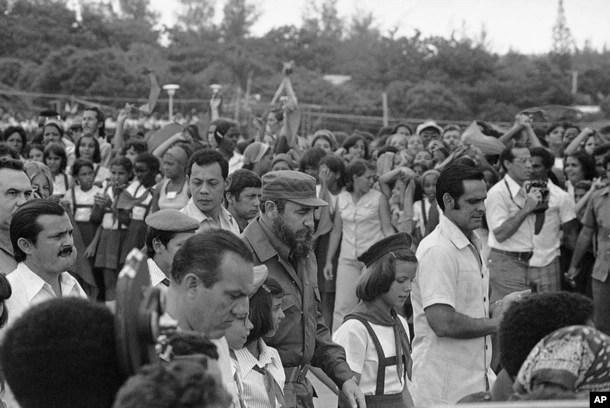 古巴前领导人卡斯特罗