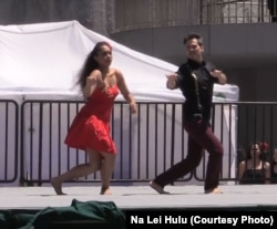 Makuakane's choreography to