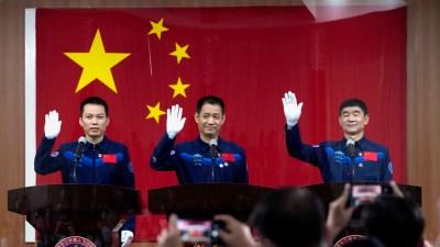 China Akan Kirim Awak ke Stasiun Antariksa Permanennya