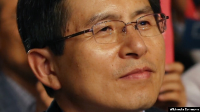 Thủ tướng Hàn Quốc Hwang Kyo-ahn.