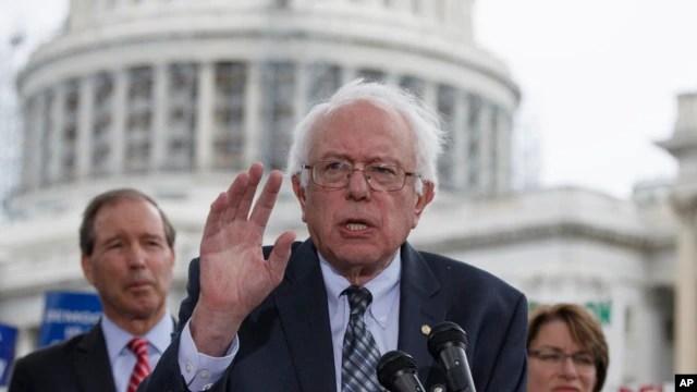 Thượng nghị sĩ Hoa Kỳ Bernie Sanders.