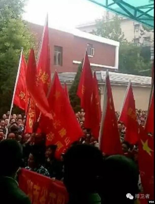 2016年5月11日,来自转业志愿兵到北京上访 转业志愿兵