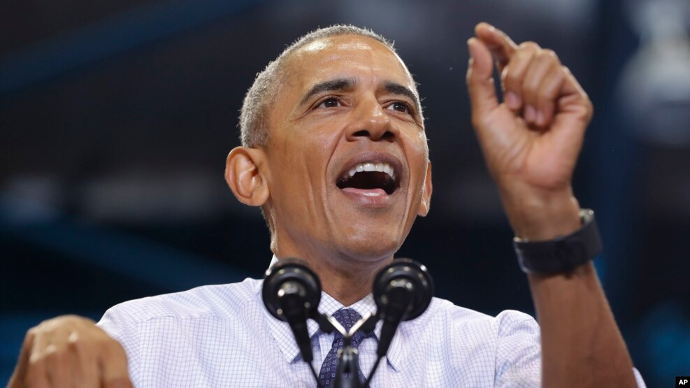 Tổng thống Barack Obama.