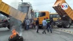 Protestas en Ecuador por estado de excepción.