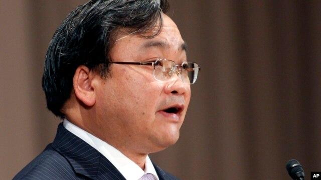 Ông Hoàng Trung Hải - người vừa được bổ nhiệm giữ chức Bí thư Thành ủy Hà Nội.