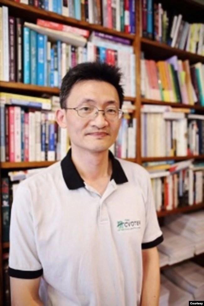 台湾中央研究院社会科学院研究员林宗弘(照片提供: 台湾中央研究院)