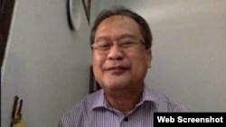 Peneliti Oseanografi BRIN, Prof Zainal Arifin, Selasa 5 Oktober 2021. (VOA)