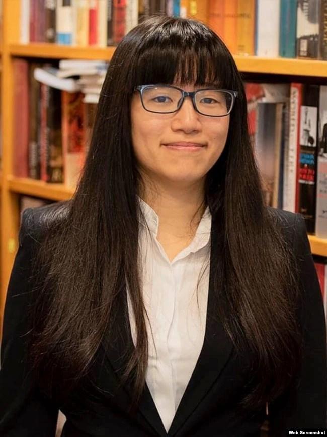 邹幸彤曾就读英国名校剑桥大学(邹幸彤脸书图片)