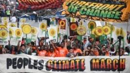 300.000 người tham gia cuộc tuần hành chống biến đổi khí hậu tại New York.