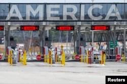 امریکہ اور کینیڈا کے درمیان 117 باضابطہ سرحدی گزرگاہیں ہیں، جو کرونا وائرس کی وجہ سے بند پڑی ہیں۔