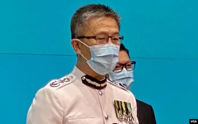 警务处副处长(行动)萧泽颐升任警务处处长 (美国之音汤惠芸)