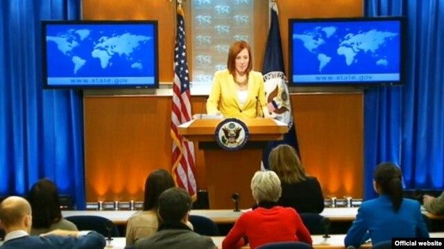 Phát ngôn viên Bộ Ngoại giao Hoa Kỳ Jen Psaki nói lập trường của Hoa Kỳ là tất cả các bên tránh những hành động đơn phương làm gia tăng căng thẳng, gây phương hại cho triển vọng có được một giải pháp ngoại giao cho vụ tranh chấp