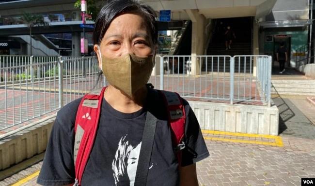 香港民主派初选47人案其中一名被告前立法会议员梁国雄的妻子、社民连主席陈宝莹质疑,控方未搜集足够证据就对47名被告提出检控,其中30多名被告的保释申请被拒绝,还柙超过半年,有如未审先囚,她认为是非常之荒谬 (美国之音/汤惠芸)