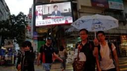 La líder de Hong Kong, Carrie Lam, anunció el miércoles 4 de septiembre de 2019 el retiro formal de un controvertido proyecto de ley de extradición que provocó protestas y una crisis política desde julio.