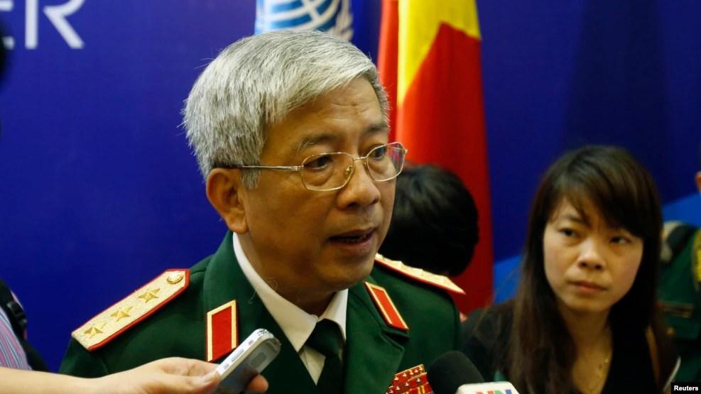 Thượng tướng Nguyễn Chí Vịnh, Thứ trưởng Bộ Quốc Phòng Việt Nam.