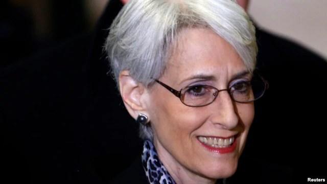Thứ trưởng phụ trách các vấn đề Chính trị của Mỹ Wendy Sherman.