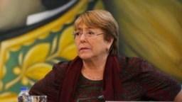 Michelle Bachelet, la Alta Comisionada para los derechos humanos de la ONU,visitó Caracasentre el 19 y el 21 de junio pasado.