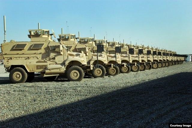 O'zbekistonga AQSh bronetransportyorlari Afg'onistondan emas, boshqa davlatlardagi bazalardan kelayotgani yo'q