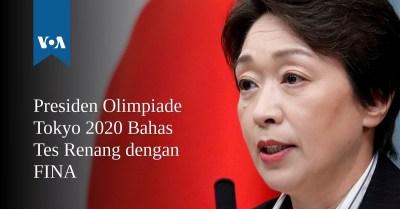 Presiden Olimpiade Tokyo 2020 Bahas Tes Renang dengan FINA