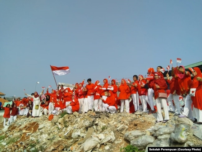 Indonesia Independence Ciliwung. (Foto: Courtesy/Sekolah Perempuan)
