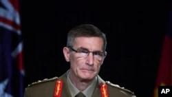 Panglima Angkatan Bersenjata Australia Jenderal Angus Campbell