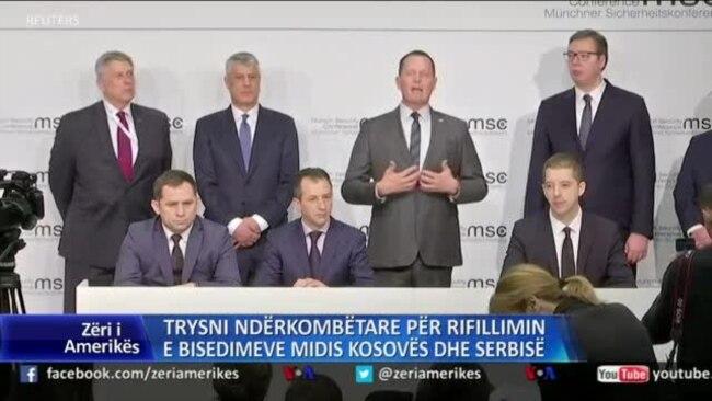 Trysni ndërkombëtare për rifillimin e bisedimeve Kosovë-Serbi
