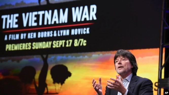 """Đạo diễn Ken Burns ra mắt phim """"The Vietnam War"""" ngày 30/7/2017."""