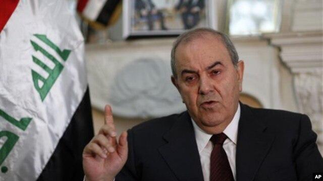 Phó Tổng thống Iraq Ayad Allawi yêu cầu các nhà lãnh đạo Iraq đề ra một chiến lược trong tình hình ông xem như chiến dịch không kích thất bại và không kiểm soát được sự mở rộng của nhóm chủ chiến IS