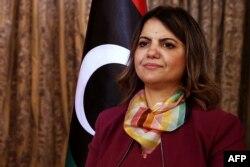 Menlu Libya Najla Mangoush