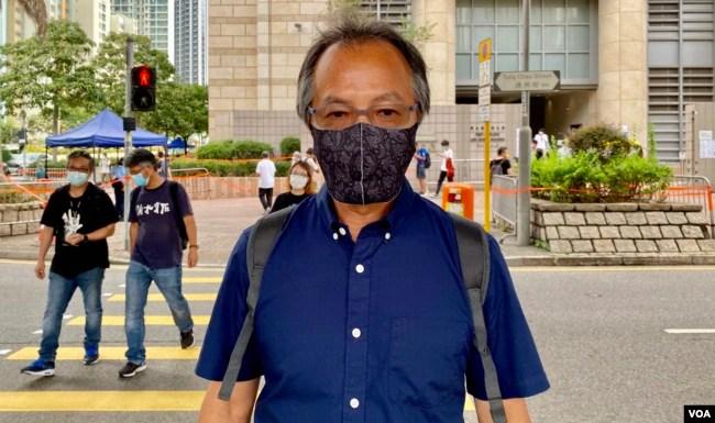 前民主派立法会议员张超雄认为,六四烛光集会有可能成为历史,再过一两代的香港年青人,可能与中国大陆一样,不知道有六四事件发生过 (美国之音/汤惠芸)
