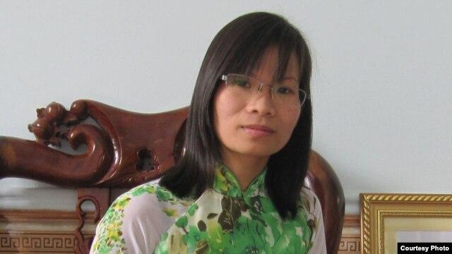 Nhà văn bất đồng chính kiến Phạm Thanh Nghiên.
